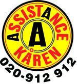 Assistancekårens logo med telefonnr 020-912912.