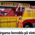 Vägens hjältar i Annonsbladet