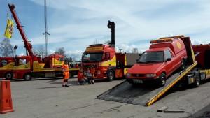 Assistancekåren visar bilar på Ingarvsdagen 2018.