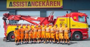 Bild på all personal hos Assistancekåren Falun och Borlänge