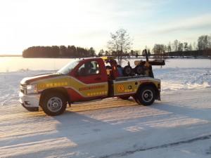 Assistancekåren i Faluns Chevroletbärgare.
