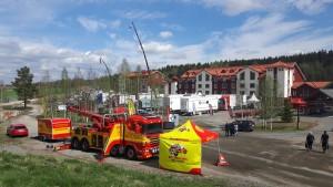 Assistancekåren deltar på Trucks in Dalarna.