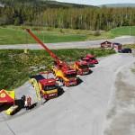 SVT Nyheter besökte oss på mässan Trucks in Dalarna