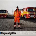 Vägens hjältar i reportage i Falu Kuriren